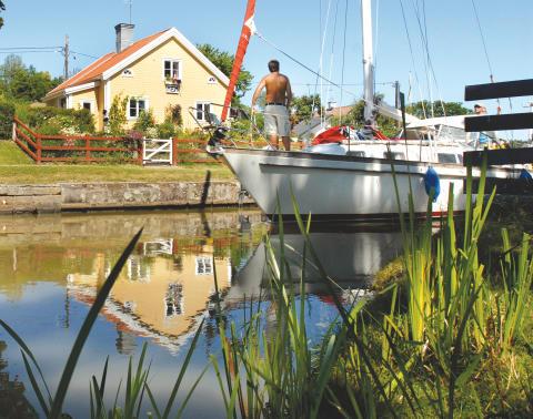 Regeringen avsätter 100 miljoner till upprustningen av Göta kanal 2016