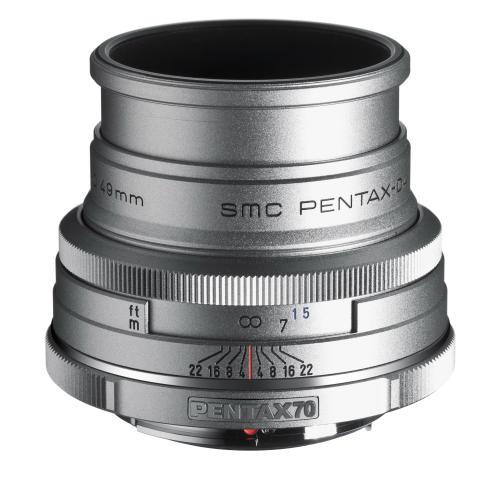 Pentax DA70mm Limited Silver edition