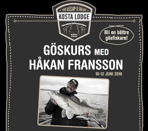 Lär dig mer om gösfiske med experten Håkan Fransson