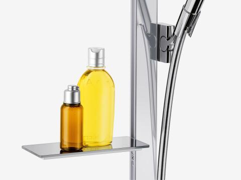 hansgrohe Unica E duschset med tvålkopp
