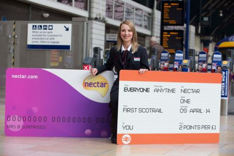 All aboard! Nectar goes full steam ahead with FirstGroup