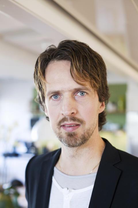 VD:n Niklas Aronsson