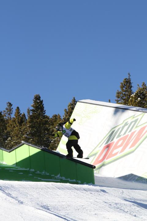 Torstein Horgmo Dew Tour 2012. Slopestyle. Foto: snowboardforbundet