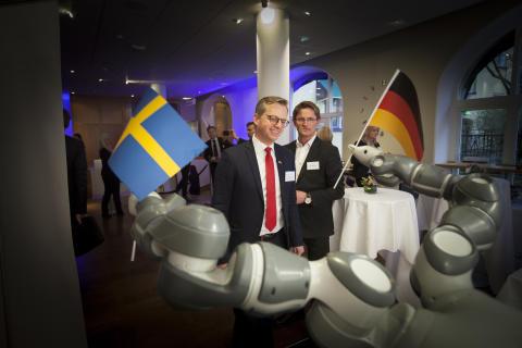 Mikael Damberg på German Swedish Tech Forum 1
