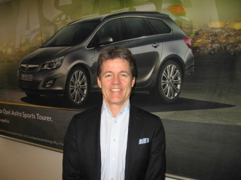 Henrik Ström, Fleet Sales Manager Opel