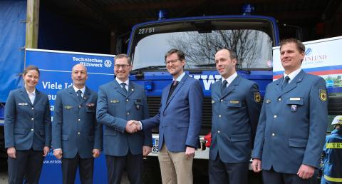 THW-Stützpunkt Louisenlund – erste THW-Einsatzstelle für den Bundesfreiwilligendienst mit Internatsunterbringung