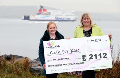 Stena Line raise ferry big amount for local charity