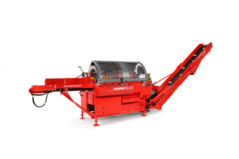 Trejon och Hakki pilke lanserar vedmaskin för proffsen