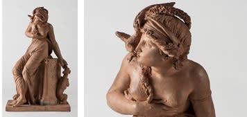 Nyförvärv: Terrakottaskulptur av Jean-Baptiste Stouf