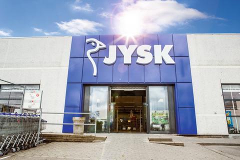 JYSK-myymälä julkisivu