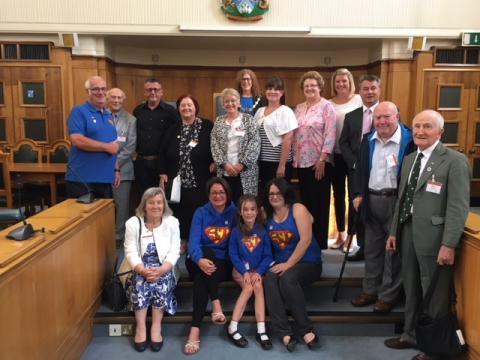 Queen's Award winners welcomed by the mayor