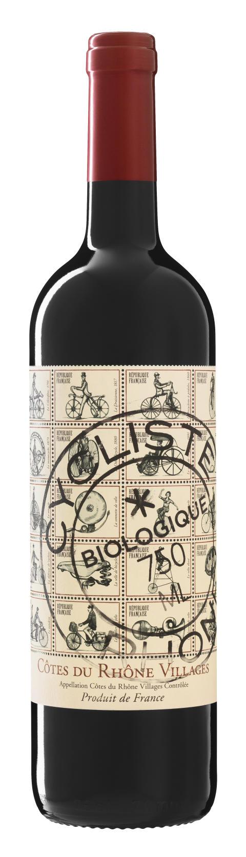 Flaskbild_Cycliste Côtes du Rhône Villages 2014, 89 kr
