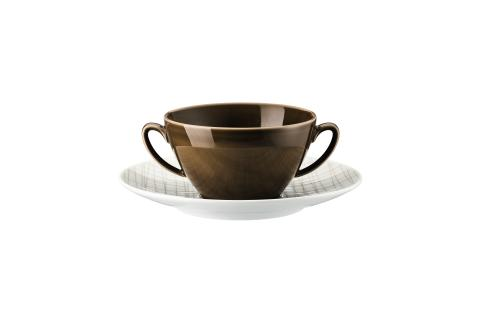 R_Mesh_Line Walnut_Creamsoup cup and saucer