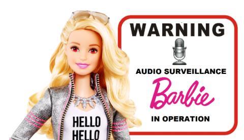 Nu kan även barnens Barbie hackas