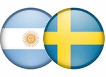 Trafikåtgärder inför Sverige-Argentina