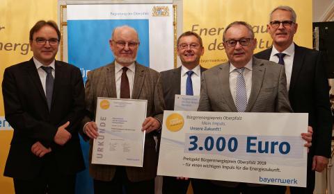 Preisverleihung Bürgerenergiepreis Oberpfalz_Manfred Klemm