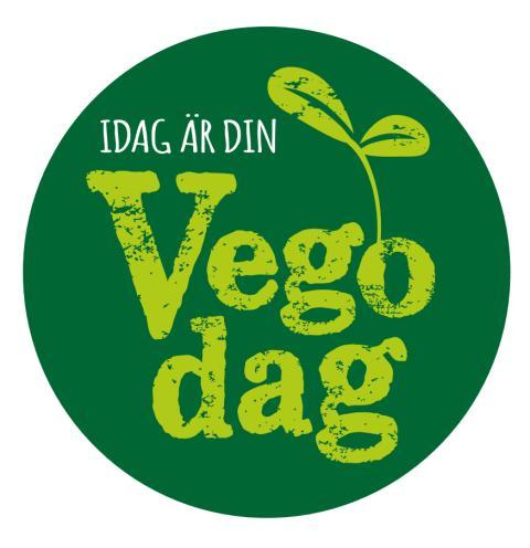 Logo Vegodag - idag är din vegodag!