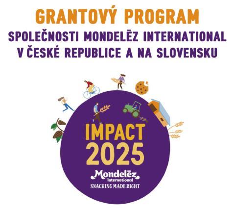 Interaktivní formulář žádosti o grant - Grantový program společnosti Mondelēz International v České republice a na Slovensku