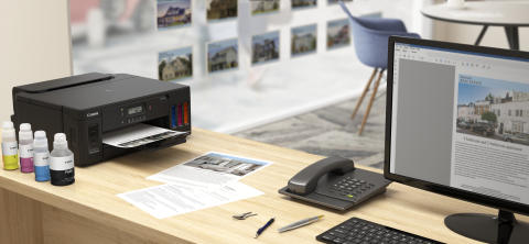 Canon's latest refillable ink tank printers deliver economical printing, ideal for small businesses or home-based entrepreneurs