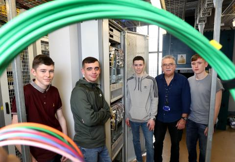 BT work placements helping Belfast youngsters kick start their careers