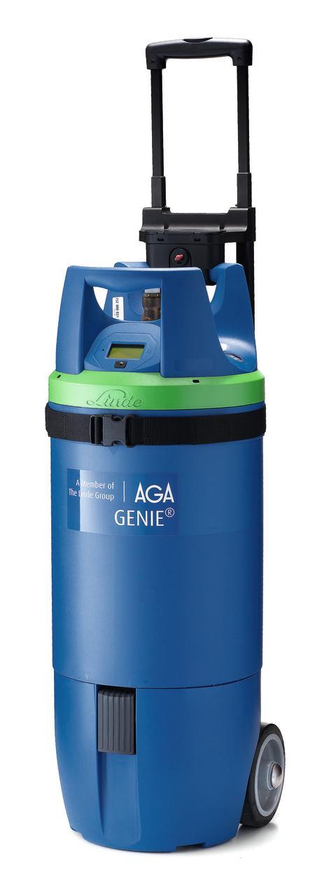 Både tekniskt avancerad och användarvänlig: Ny gasflaska lanseras på den svenska marknaden