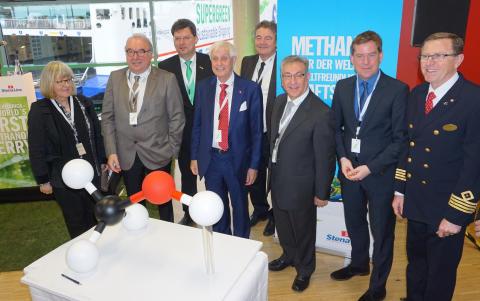 Feierlicher Empfang der Stena Germanica – die weltweit erste Methanolfähre.