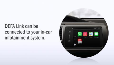 DEFA på Automechanika: DEFA Link kommuniserer med  bilen og hytta via mobilen