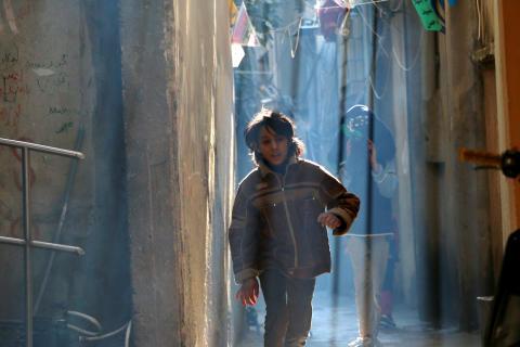 Flyktingar i Libanon använder fotografi för att visa verkligheten i flyktinglägret Ein el-Hilweh