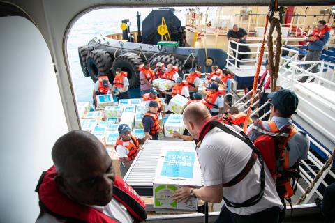 Royal Caribbean startar stor insamling till befolkningen i Bahamas