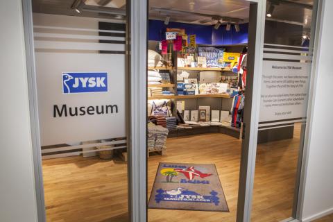 40 år med JYSK kommer på museum