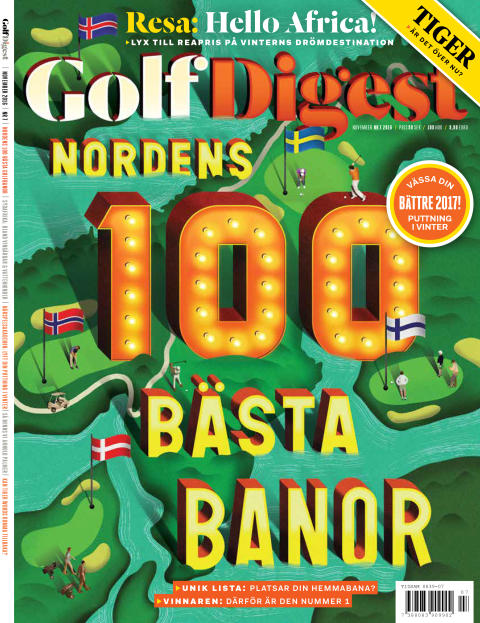 Omslag Golf Digest