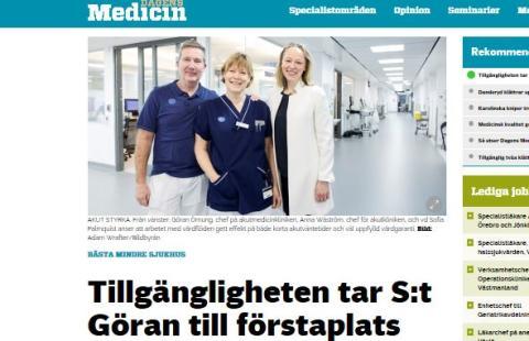 Privat sjukhus visar vägen
