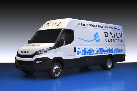 Iveco præsenterer Ny Daily Electric