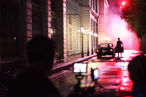 Fireworks TVC: Behind the scenes shot