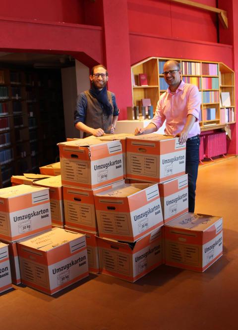 Leichterer Zugang. Fachbibliothek Heilpädagogik wird in Goetheanum-Bibliothek integriert