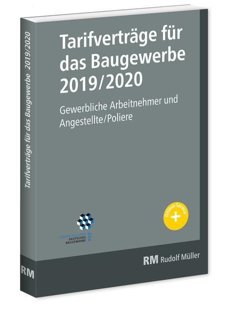 Tarifverträge für das Baugewerbe 2019/2020 (3D/tif)