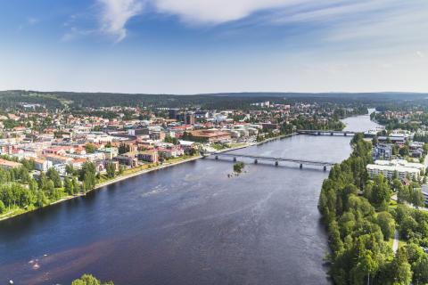 Kommunen utvecklar rese- och transportsystemet i Skellefteå – ny bro aktuell igen
