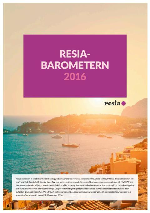 Resiabarometern 2016