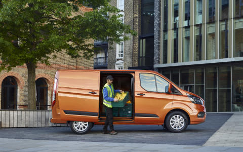 Nye Ford Transit Custom 2017