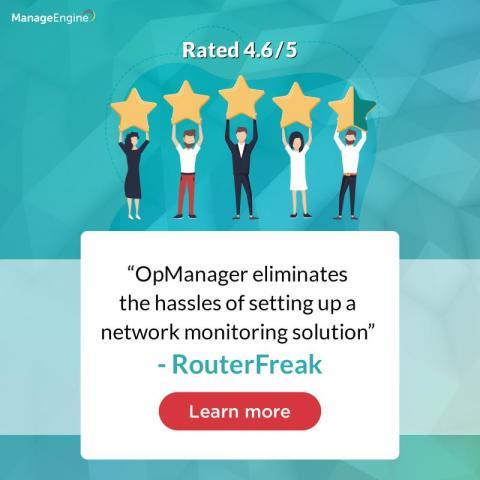 Högt betyg för OpManager i test