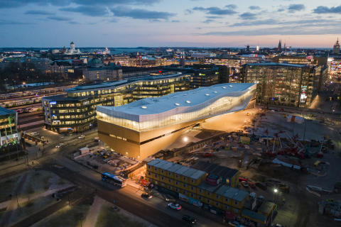 Finland's most beautiful building may also be the smartest