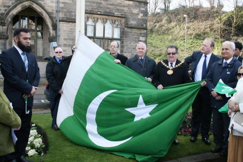 Flag-raising ceremony celebrates Pakistan Day