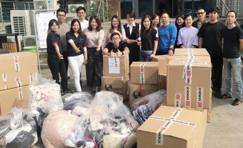 Global återvinning i samarbete med H&M