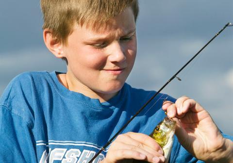 Välkommen till fiskepremiär och invigning av nytt promenad- och joggingstråk