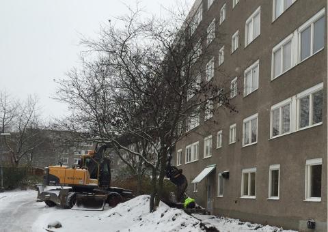 Byggmästargruppen har fått förtroendet av Brf Henriksdalshöjden att bygga tre stycken nya tvättstugor samt konvertera fastighetens befintliga förråd och tvättstuga till nio stycken nya lägenheter.