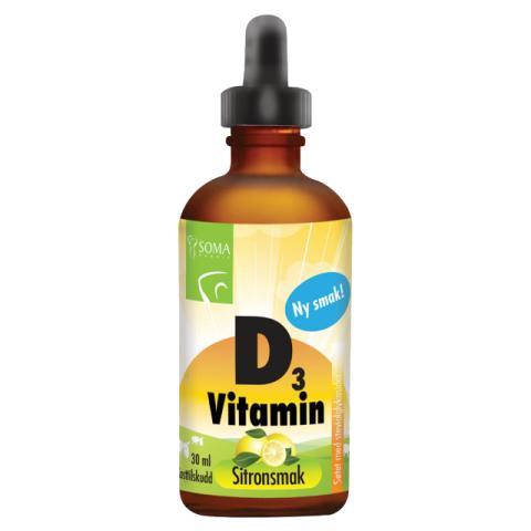 D-vitamindråper Soma