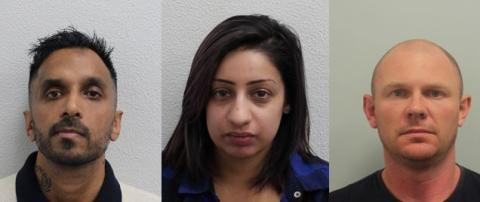 Three sentenced after theft of jewellery