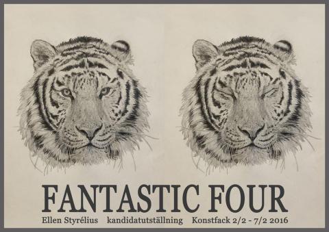 Hotade affischnamn, realitet och fiktion i Ellen Styrélius kandidatutställning på Konstfack