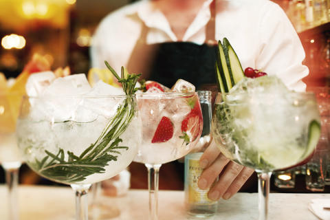 Ving hakar på Gin & Tonic-trenden