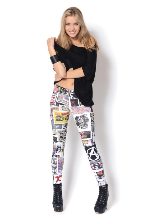 Whoy - Special Edition Punk Collage Leggings